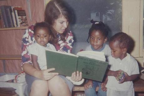 Ellen Siegel and other volunteers laid low at first, reading to children and meeting neighbors.
