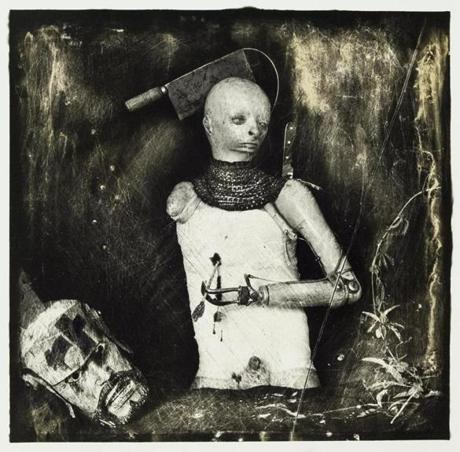 "Joel-Peter Witkin's ""Un Santo Oscuro."""