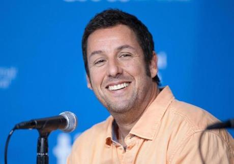 Adam Sandler has a deal to take four films straight to Netflix.