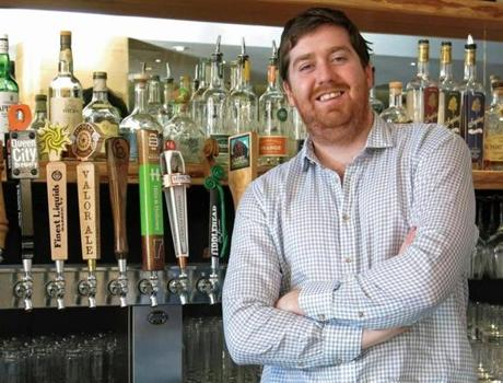 BEER CONCIERGE: Matt Canning at the Hotel Vermont in Burlington gets hotel guests tapped in to what craft beers they want.