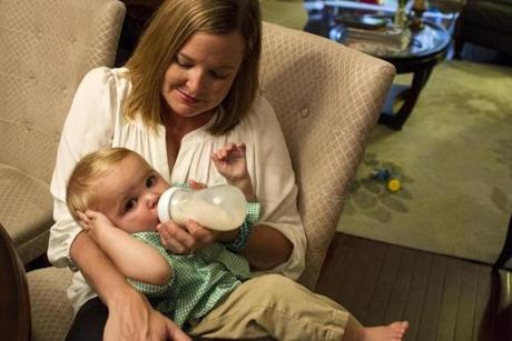 Stacie Chapman's son was born healthy, despite the results of a prenatal screening.