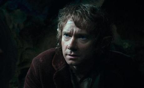 MARTIN FREEMAN as the Hobbit Bilbo Baggins in the fantasy adventure �THE HOBBIT: AN UNEXPECTED JOURNEY,� a production of New Line Cinema and Metro-Goldwyn-Mayer Pictures (MGM), released by Warner Bros. Pictures and MGM.