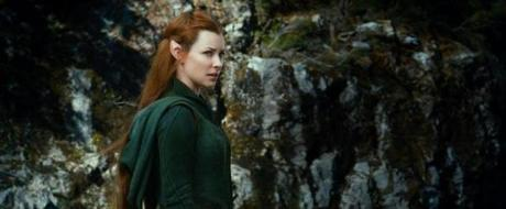 "HBT2-TRL1-067 Film Name: THE HOBBIT: THE DESOLATION OF SMAUG Copyright: © 2013 WARNER BROS. ENTERTAINMENT INC. AND METRO-GOLDWYN-MAYER PICTURES INC. Photo Credit: Courtesy of Warner Bros. Pictures Caption: EVANGELINE LILLY as Tauriel in the fantasy adventure ""THE HOBBIT: THE DESOLATION OF SMAUG,"" a production of New Line Cinema and Metro-Goldwyn-Mayer Pictures (MGM), released by Warner Bros. Pictures and MGM. 13hicks"