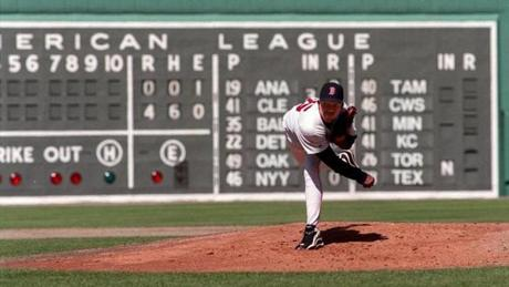Pedro Martinez had chalked up 12 strikeouts and nine zeros on the scoreboard against the Mariners on April 11, 1998.