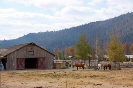 18alternative - The mountains await visitors coming to this dude ranch in Montana. (Ranch at Rock Creek)