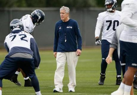 Coach Pete Carroll has spearheaded the Seahawks' nontraditional football culture.