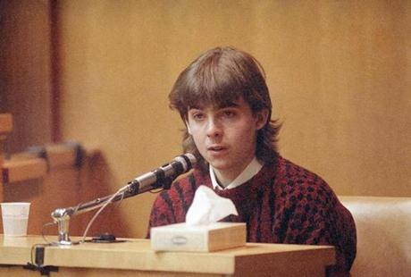 William Flynn testified on his 17th birthday in 1991.
