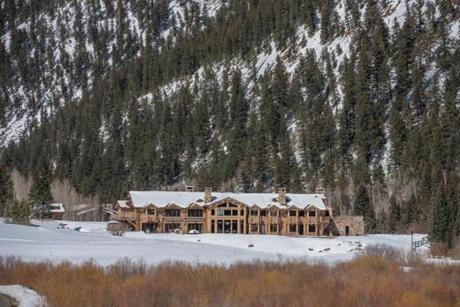 Bill Koch's estate near Aspen was recently put on the market for $100 million.