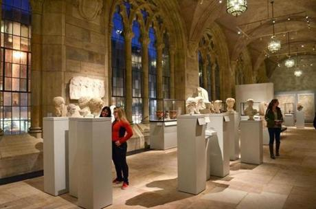 10newhaven - After you've fueled up on pizza, take advantage of New Haven's numerous cultural venues, like Yale Art Gallery. (Michael Marsland)