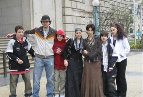 A Tsarnaev family photo.