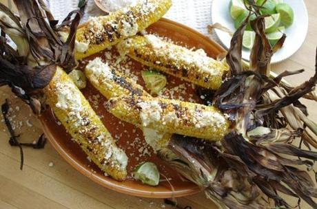 Grilled Corn With Cayenne, Lime, And Cotija Recipes — Dishmaps