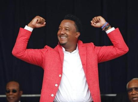 Pedro Martinez is trying to position himself as someone who is more than a baseball player.