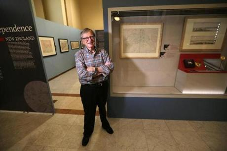 "Ronald Grim, as curator of the Norman B. Leventhal Map Center at the Boston Public Library, organized the ""We Are One"" exhibition."