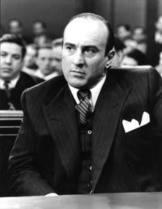 Robert De Niro as Al Capone.