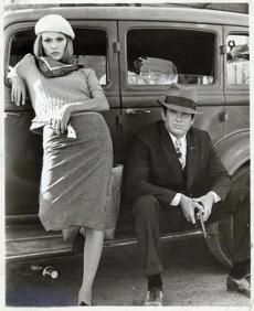 "Warren Beatty and Faye Dunaway won the hearts of the rebellious 1967 youth audience as ""Bonnie and Clyde."""
