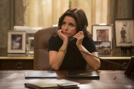 "Julia Louis-Dreyfus in ""Veep."""