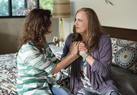 "Jeffrey Tambor (right) in ""Transparent."""