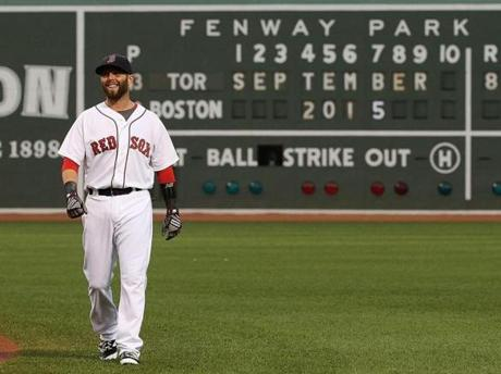 MLB Network ranked Dustin Pedroia eighth among second basemen.