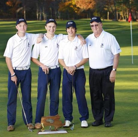 St. John's Prep went undefeated on the golf course this fall.