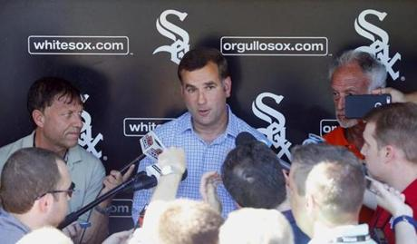 Rick Hahn's emphasis will be to upgrade the offense.