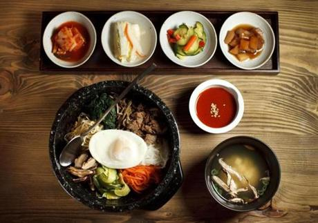 Bibimbap at Meju.