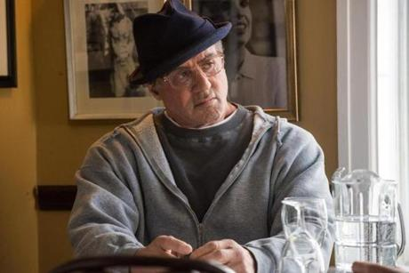 "Sylvester Stallone as Rocky Balboa in ""Creed."""