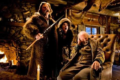 "A scene from ""The Hateful Eight."""