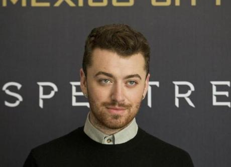 "FILE - In this Nov. 1, 2015 file photo, British singer Sam Smith poses at the photo call for the latest Bond film, ""Spectre,"" at Regis hotel in Mexico City. Smith, who won the Golden Globe for best original song earlier this week with �Writing�s On the Wall,� was nominated for an Oscar for best original song, Thursday, Jan. 14, 2016, for the ""Spectre"" track. (AP Photo/Esteban Felix, File)"
