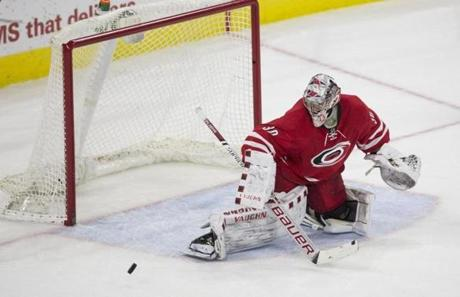 Cam Ward's time as a starter is over.