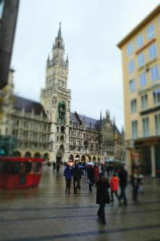 New Town Hall in Munich's Marienplatz.