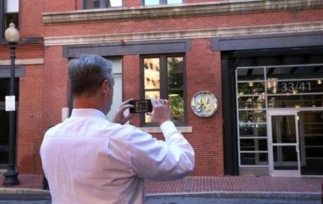 GE Opens Temporary Headquarters In Boston