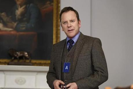 "Kiefer Sutherland in ""Designated Survivor."""