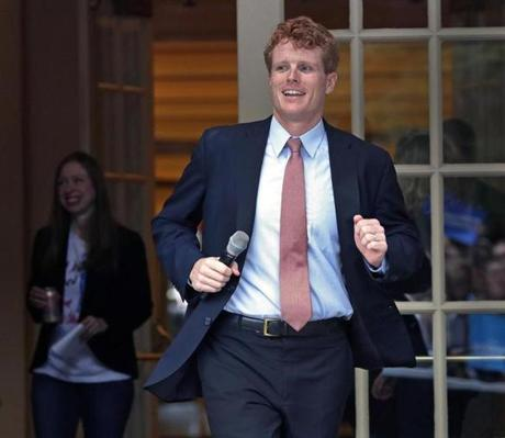 Congressman Joe Kennedy.