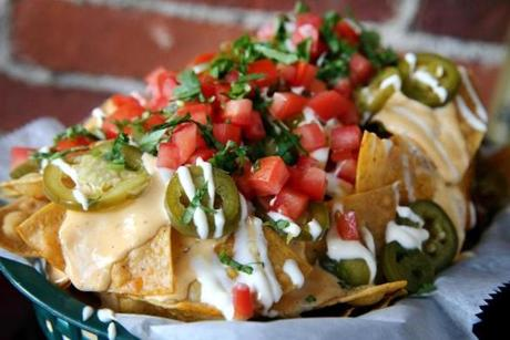 10/20/2016 - Boston, MA - October 20, 2016: Breakfast nachos at Casa Verde in the Jamaica Plain neighborhood of in Boston, MA on October 20, 2016. (Craig F. Walker/The Boston Globe) Section: lifestyle reporter:smartc