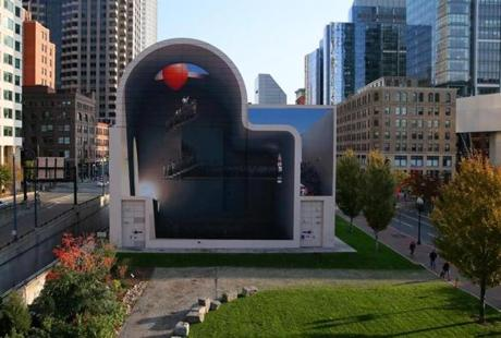 The weekender fantastic beasts prizefighters and a for Dewey square mural
