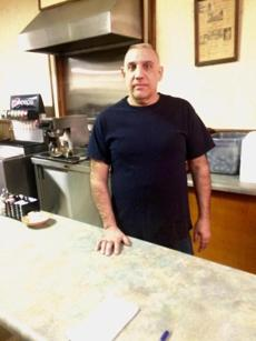 11farragher - John Famulare Jr.'s family has owned Jenny's restaurant in Bellevue, Ohio, for 33 years. (Thomas Farragher)