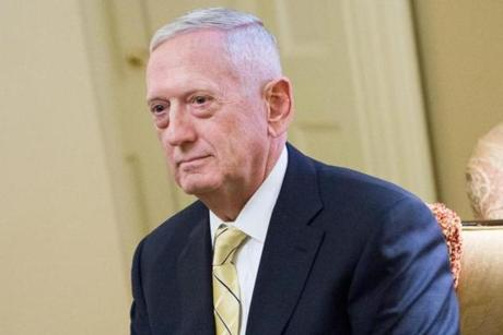 Retired Marine General James Mattis is nominated to lead the Defense Department