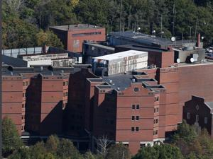 QUINCY, MA - 10/09/2014: Quincy Medical Center AERIAL (David L Ryan/Globe Staff Photo) SECTION: METRO TOPIC stand alone photos