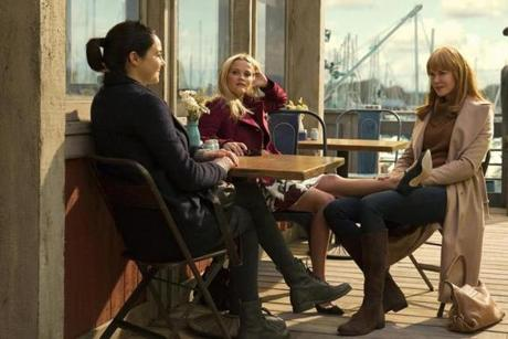 "HBO's ""Big Little Lies"" stars Shailene Woodley, Reese Witherspoon, and Nicole Kidman."