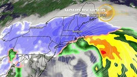 Massachusetts braces for up to 2 feet of snow, high winds