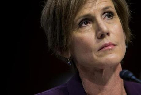Former Deputy Attorney General Sally Yates