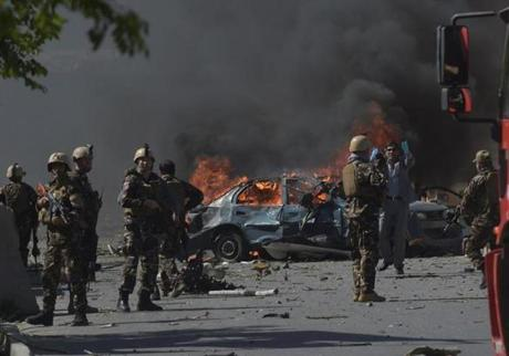 Death Toll Rises To 80 In Kabul Car Bomb Explosion, 350 Injured