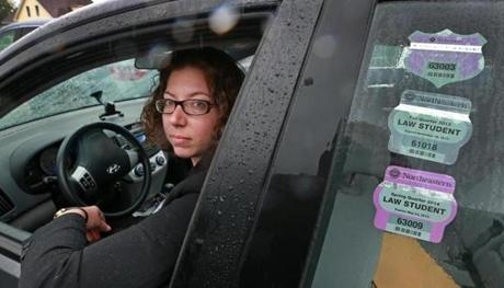 State Representative Natalie Higgins, 28, is waiting to pay off a student loan before she replaces her car.