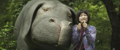 A scene from the film Okja.""