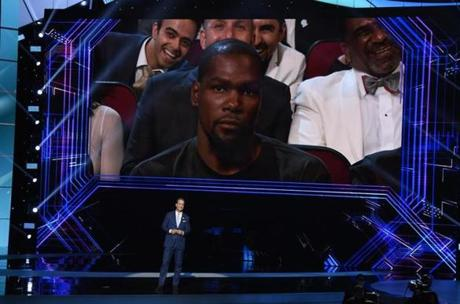 Kevin Durant was in on Peyton Manning roast, report says — ESPY Awards