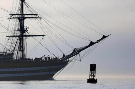The Amerigo Vespucci.