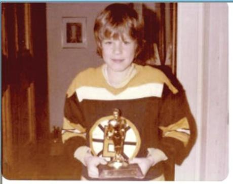 Growing up in Milwaukee, the Bruins were Felger's favorite hockey team.