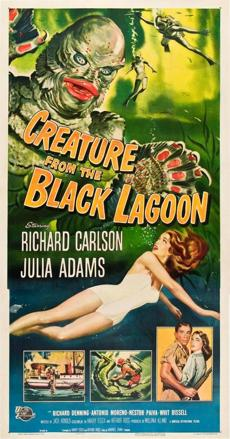 "1954's ""Creature from the Black Lagoon."""