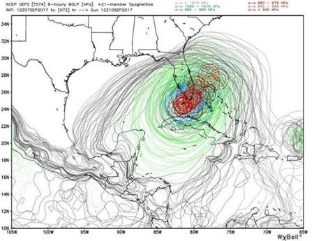 Hurricane Jose a potential threat to East Coast next week