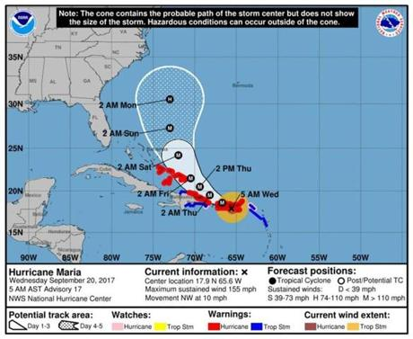 NWS: Tropical storm conditions may begin tonight into Wednesday